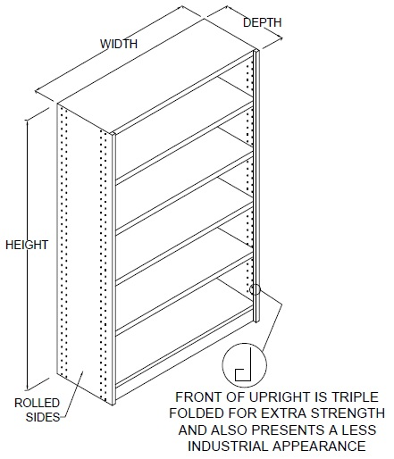 rolled-upright-shelving